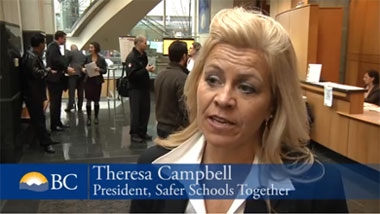 Theresa Campbell at ERASE Bullying Summit