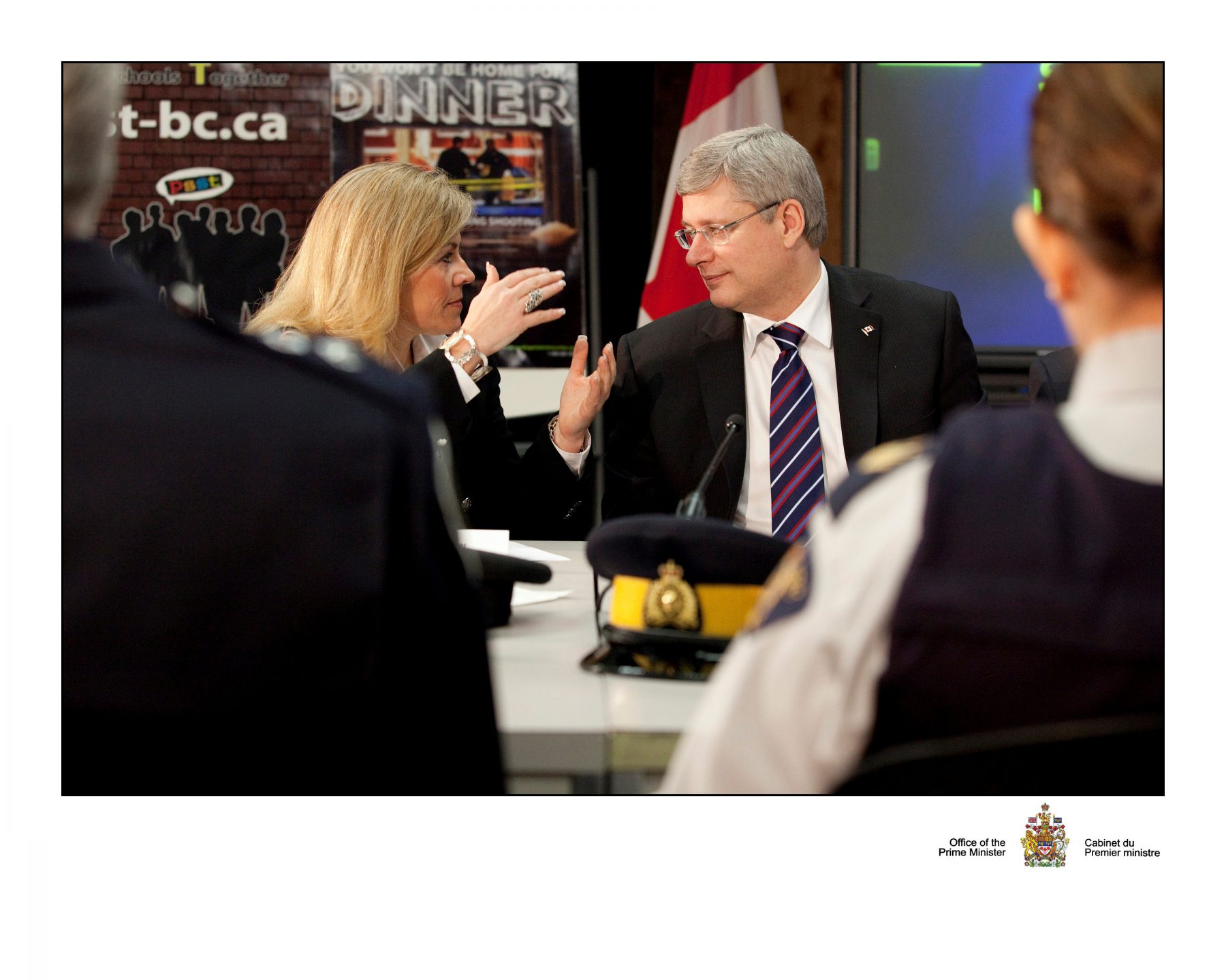 Theresa joins PM in Surrey to announce extension to youth gang prevention funds