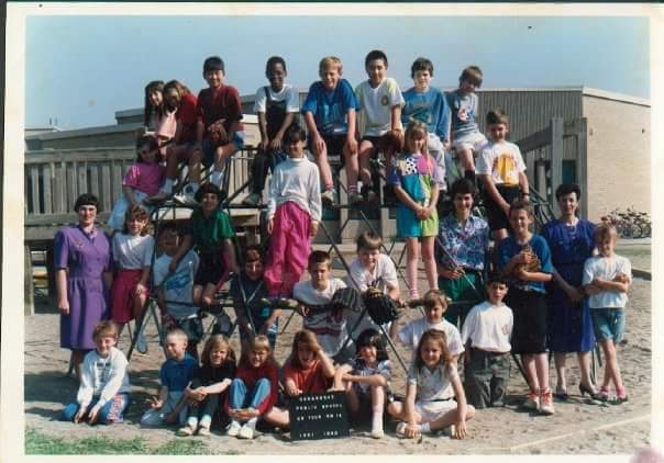 Nick Brown grade 3 class photo