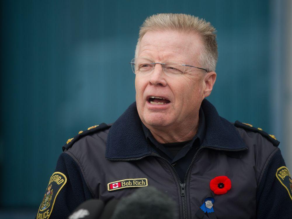 APD Chief Bob Rich - Vancouver Sun
